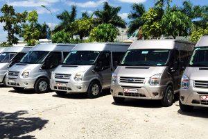 Giá xe 16 chỗ đi sân bay Nội Bài – Xe mới, giá rẻ