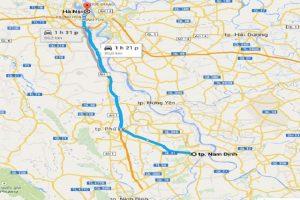 3 Cách đi từ sân bay Nội Bài về Nam Định thuận tiện