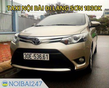 Taxi từ sân bay Nội Bài đi Lạng Sơn giá rẻ, trọn gói chỉ từ 1,310,000 VNĐ