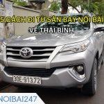 5 Cách đi từ sân bay Nội Bài về Thái Bình thuận tiện, giá rẻ
