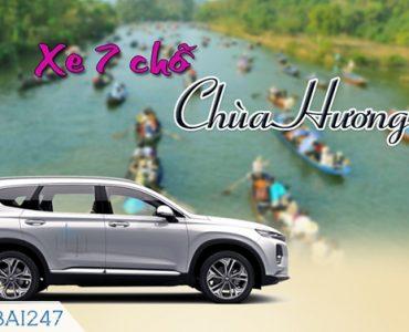 Bảng giá thuê xe đi chùa Hương 5, 7, 16 chỗ giá rẻ (MỚI 2020)
