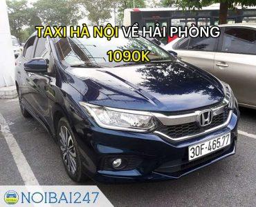 Taxi từ Hà Nội đi Hải Phòng Giá Rẻ, Trọn Gói chỉ từ 1.090.000