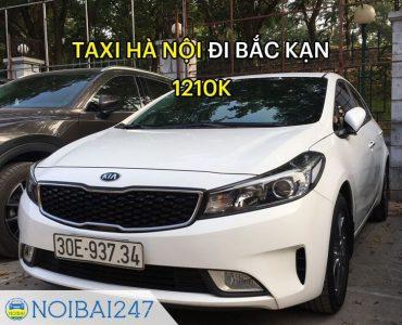 Taxi Nội Bài đi Bắc Kạn giá rẻ, trọn gói chỉ từ 1.210.000 VNĐ