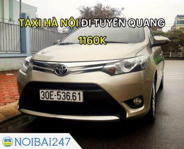 Taxi từ Hà Nội đi Tuyên Quang Giá Rẻ, Trọn Gói chỉ từ 1.160.000