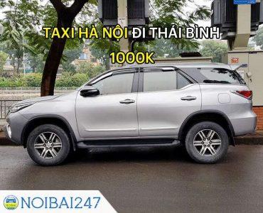 Taxi từ Hà Nội đi Thái Bình Giá Rẻ, Trọn Gói chỉ từ 1.000.000
