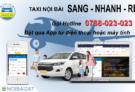 Taxi nội bài Sang Nhanh Rẻ